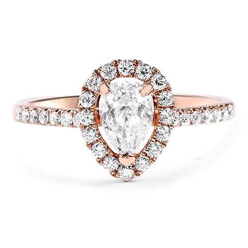Pear Shape Rose Gold