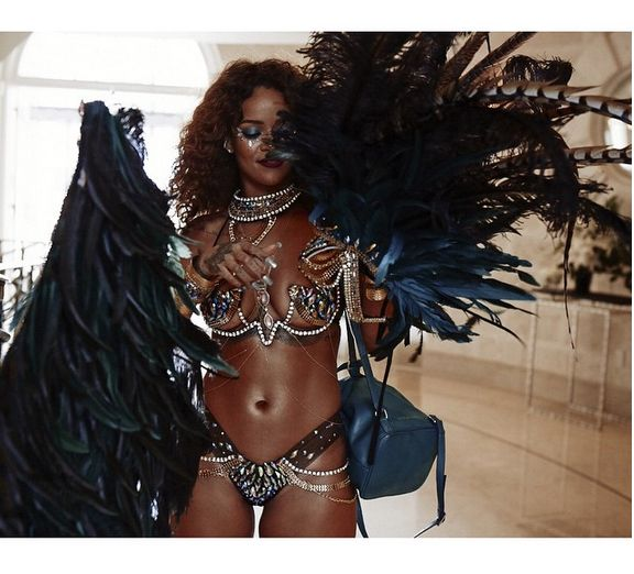 Rihanna at Crop Over - BellaNaija - August 2015004