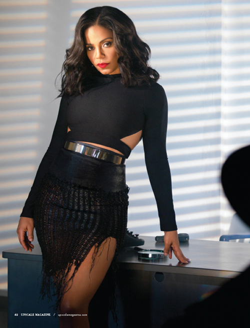 Sanaa Lathan brings Drama & the Sexy for Upscale Magazine's Latest Issue! |  BellaNaija