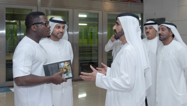 Sijibomi 'SujiMoto' Ogundele meets Emir of Dubai Mohammed bin Rashid Al Maktoum 5