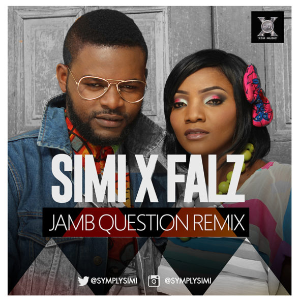 Simi feat Falz -Jamb Question - BellaNaija - August - 2015