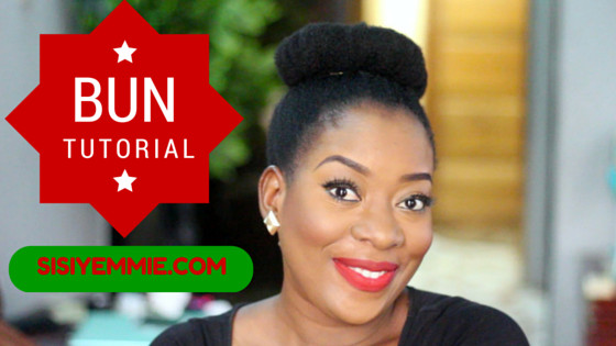 Sisi Yemmie Bun Tutorial - BellaNaija - August2015