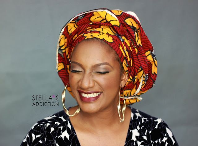 Stella's Addiction Ankara Inspired Makeup - BellaNaija - August 2015