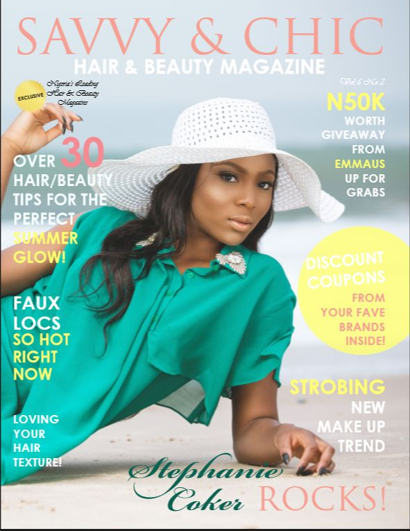 Stephanie Coker for Savvy & Chic Magazine - BellaNaija - August2015