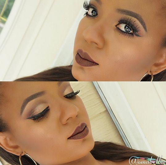 Summer Vampy Makeup with Omabelle - BellaNaija - August2015