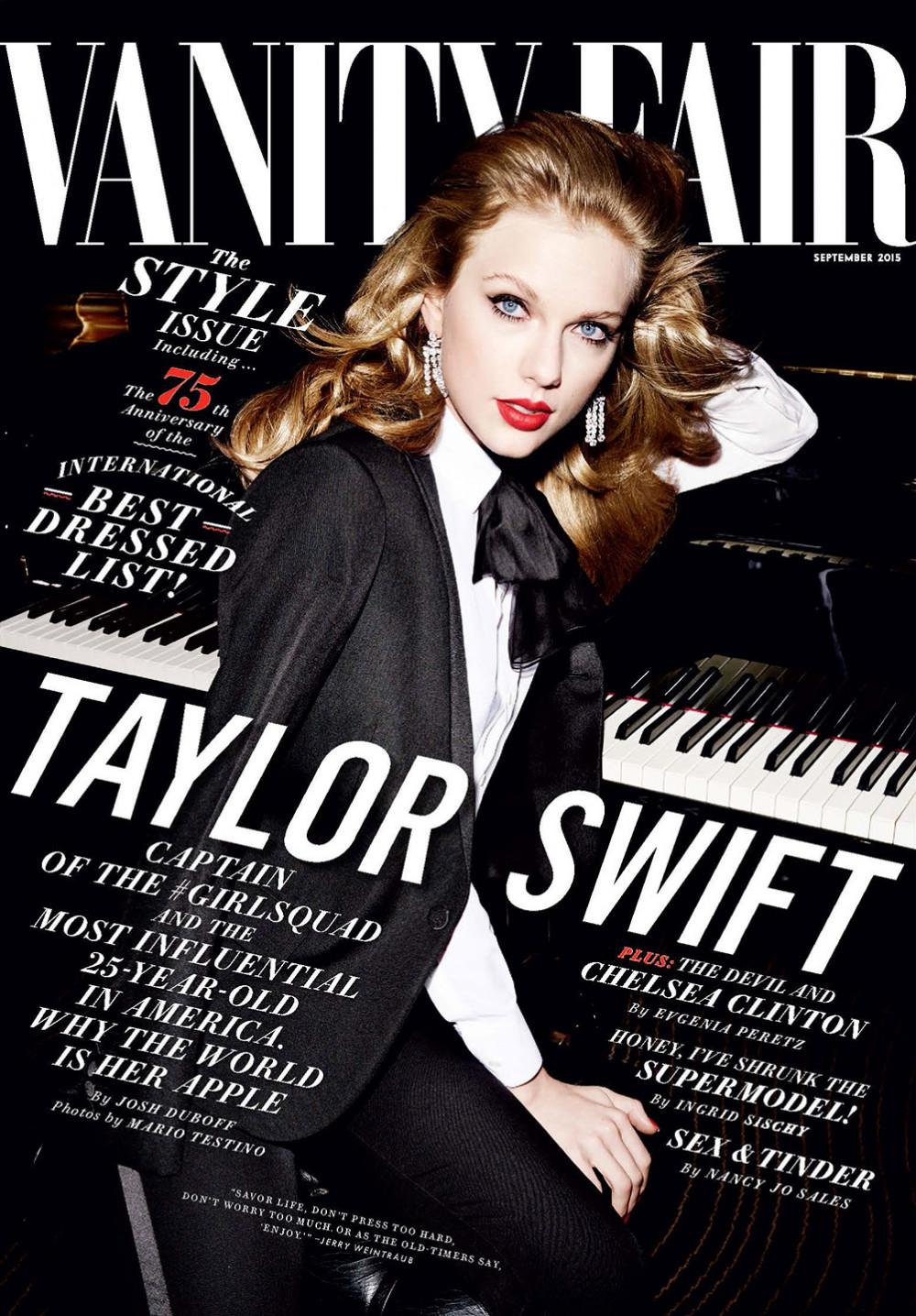 Taylor Swift Vanity Fair September 2015 Cover (5)