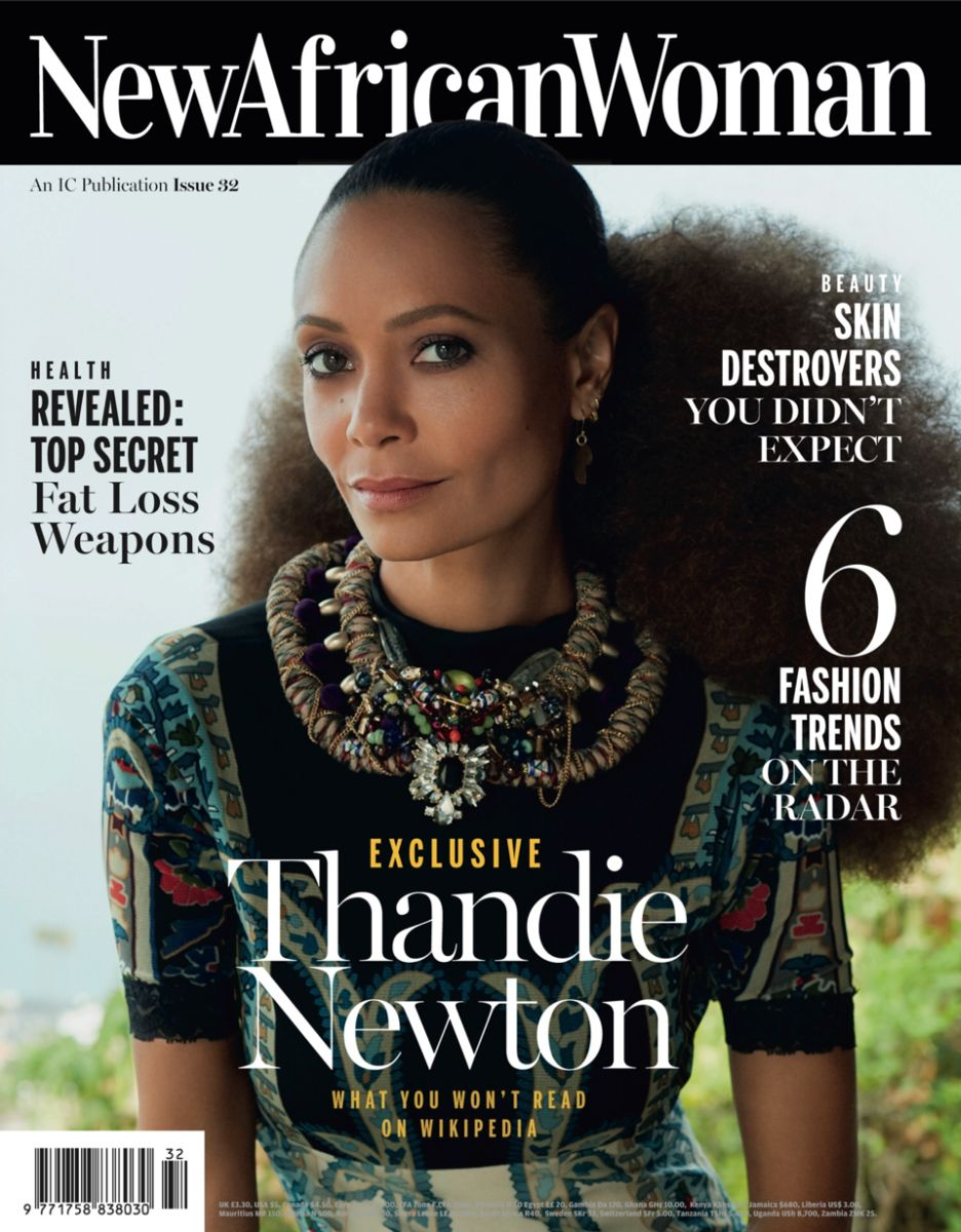 Thandie Newton for New African Woman Magazine August 2015 - Bellanaija - August2015002