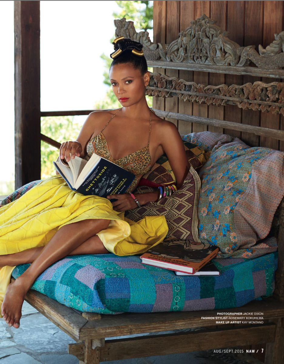 Thandie Newton for New African Woman Magazine August 2015 - Bellanaija - August2015003