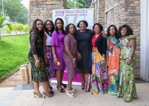 The iWOW Abuja Dazzle Series Organising Team