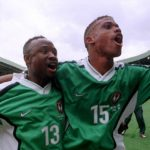 Tijani and Sunday Oliseh