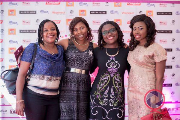 Tale Oladapo, Kemi Fabusoro (Media Manager, Cadbury), Tomilola Adenuga
