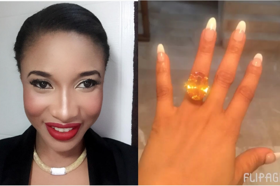 Tonto Dikeh-Churchill is still in euphoria.