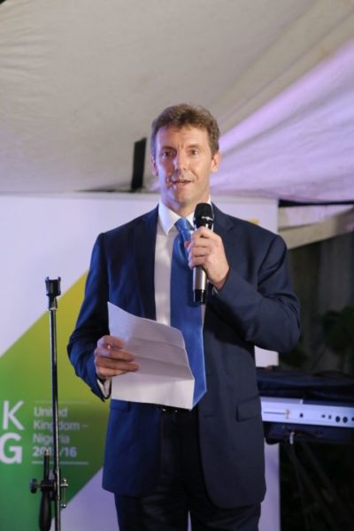Simon Shercliff (Deputy British High Commissioner to Nigeria)
