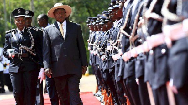 Ugandan Pres