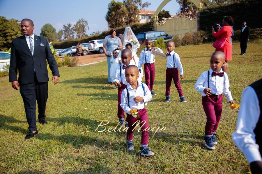 Winnie Franck Botswana Wedding 2017 On Bellanaija Weddings White W F 74