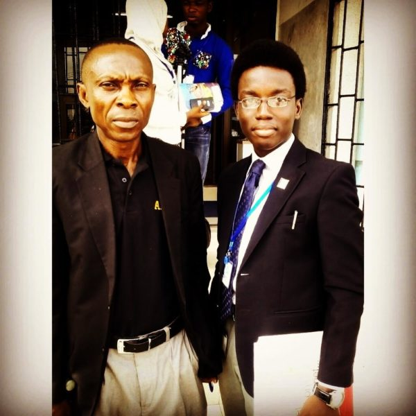 With famous Advertising Author, Dr. Joe Onuorah