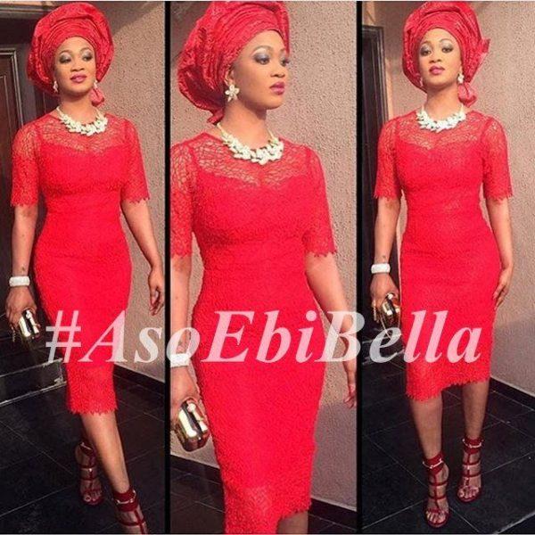 @adebankeee | dress by @aprilbykunbi