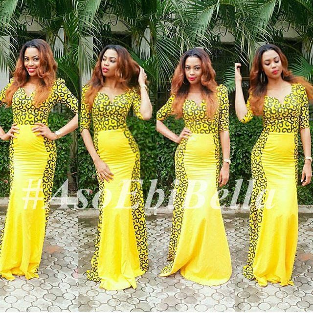 Bellanaija ankara styles 2016 for Current wedding dress styles