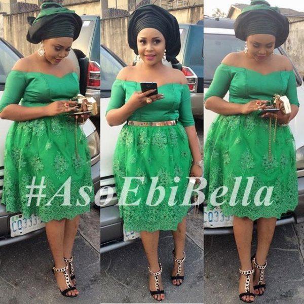 @irewamide27 | dress by @ayinkecouture