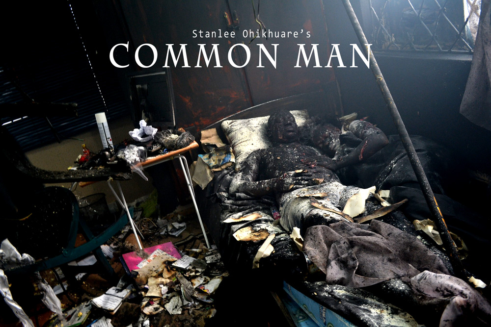 "Stanlee Ohikhuare's ""Common Man"" in the Spotlight ... A Common Man Poster"