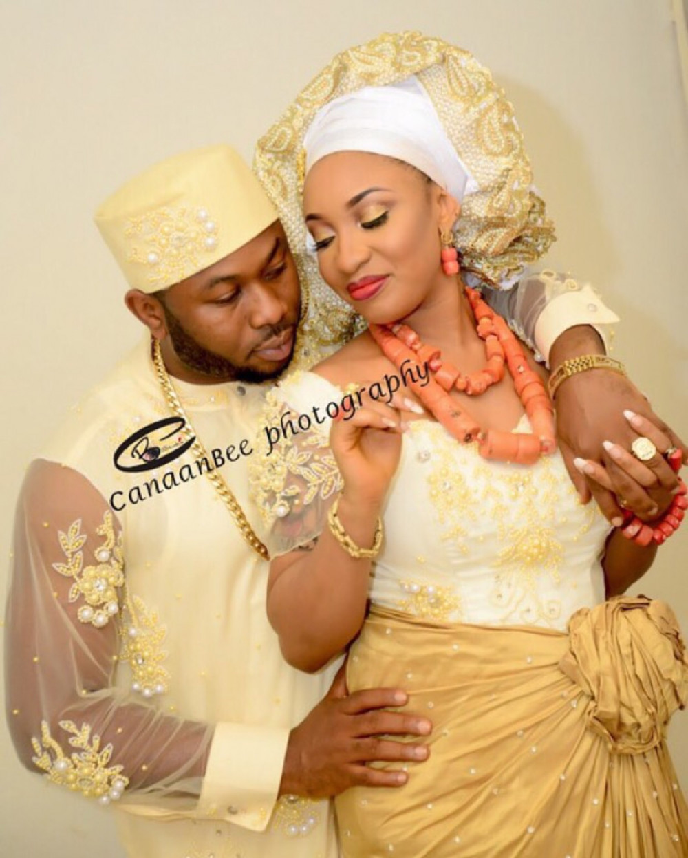 Tonto Dikeh traditional wedding with Oladunni Churchill
