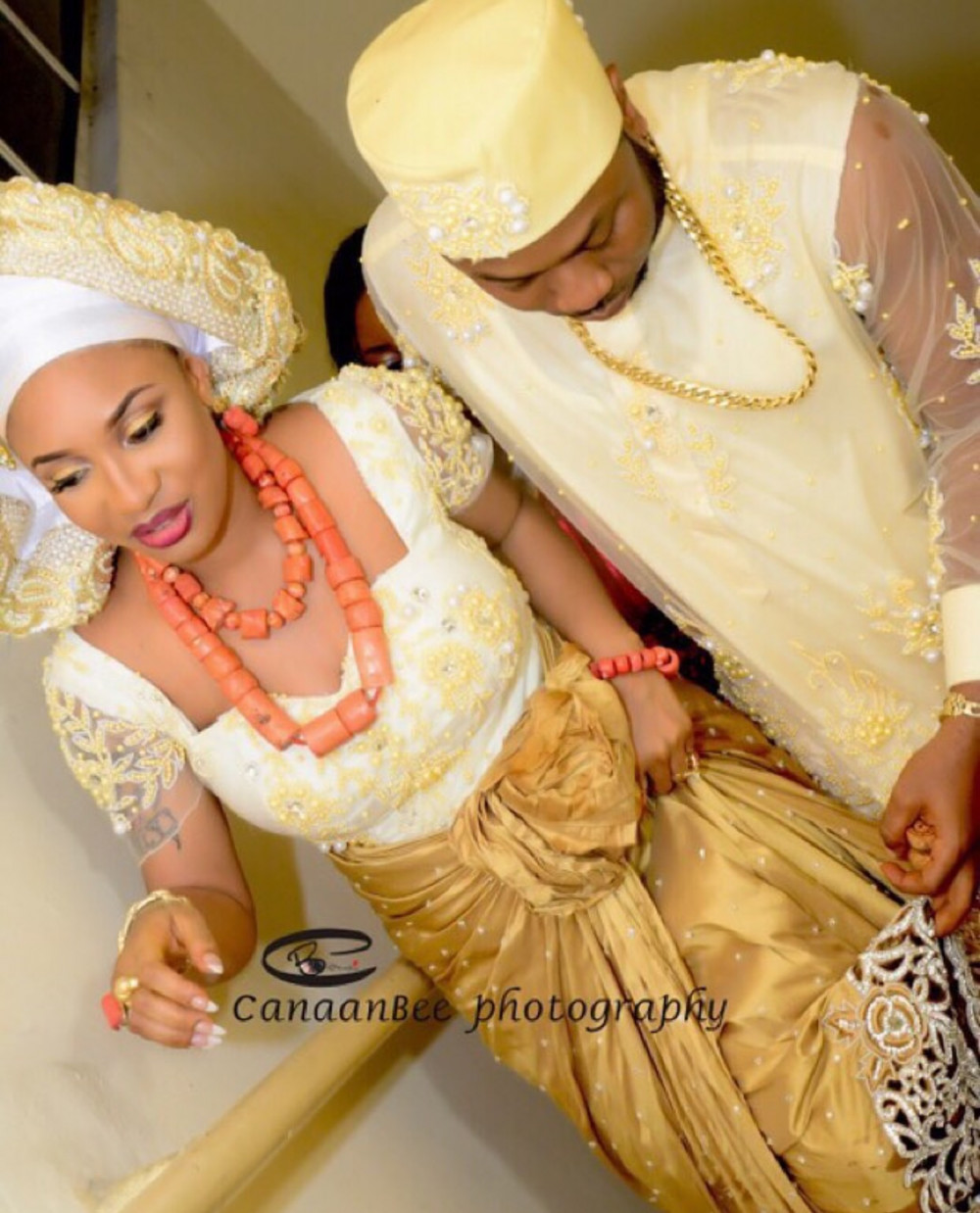 Tonto Dikeh traditional wedding photos