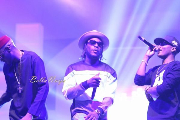 2Face Idibia, Burna Boy & Wizkid