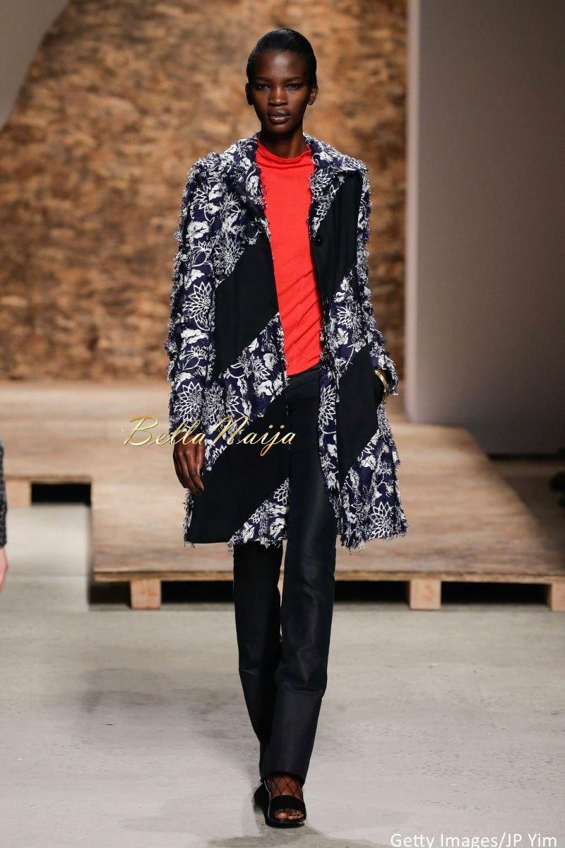 Aamito Stacie Lagum at New York Fashion Week 2015 - Bellanaija - September002