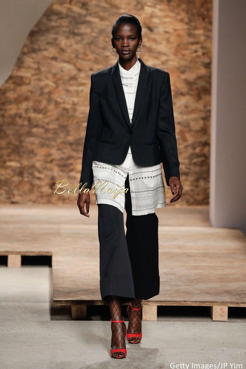 Aamito Stacie Lagum at New York Fashion Week 2015 - Bellanaija - September003
