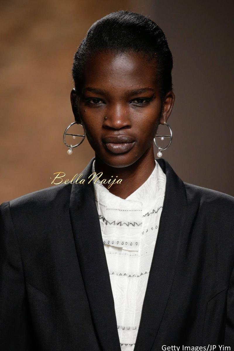 Aamito Stacie Lagum at New York Fashion Week 2015 - Bellanaija - September005