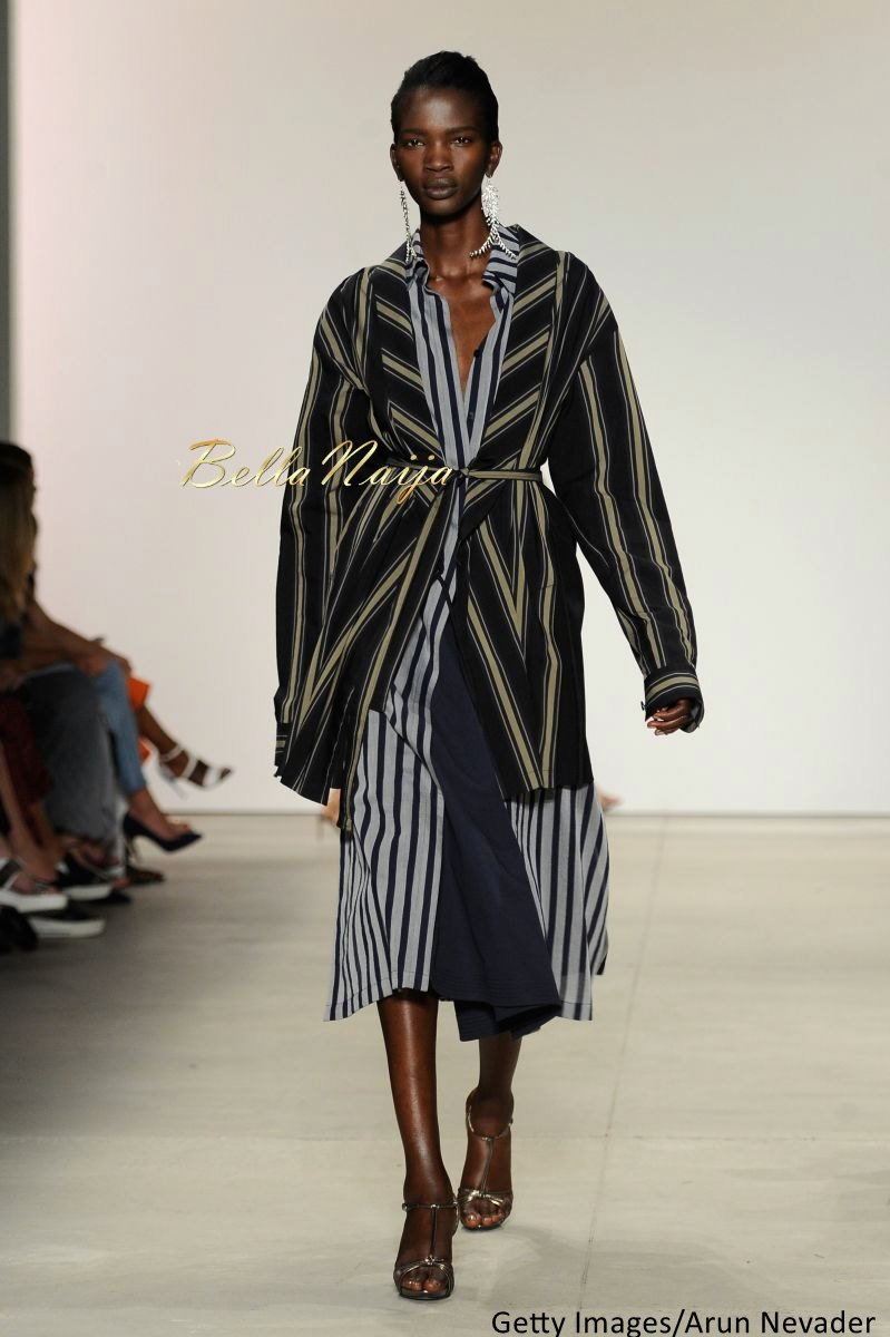 Aamito Stacie Lagum at New York Fashion Week 2015 - Bellanaija - September006