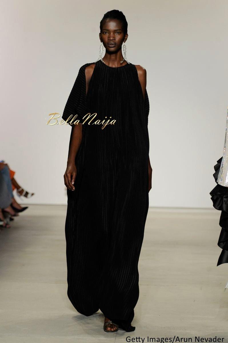 Aamito Stacie Lagum at New York Fashion Week 2015 - Bellanaija - September007