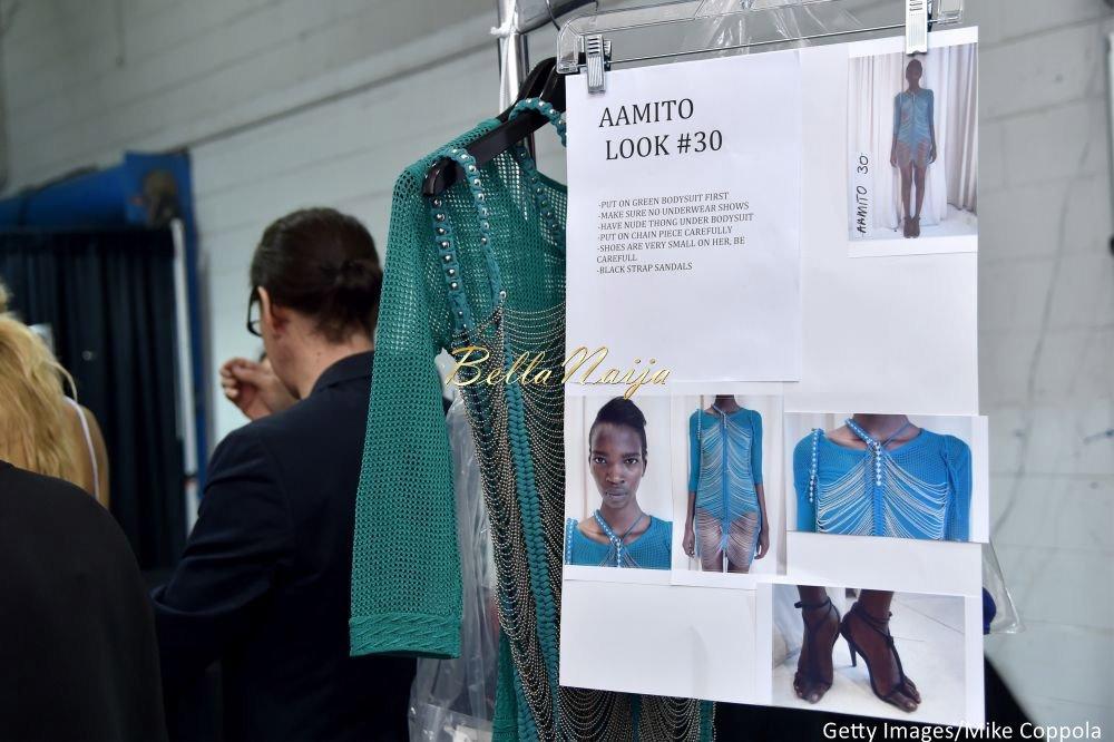 Aamito Stacie Lagum at New York Fashion Week 2015 - Bellanaija - September010