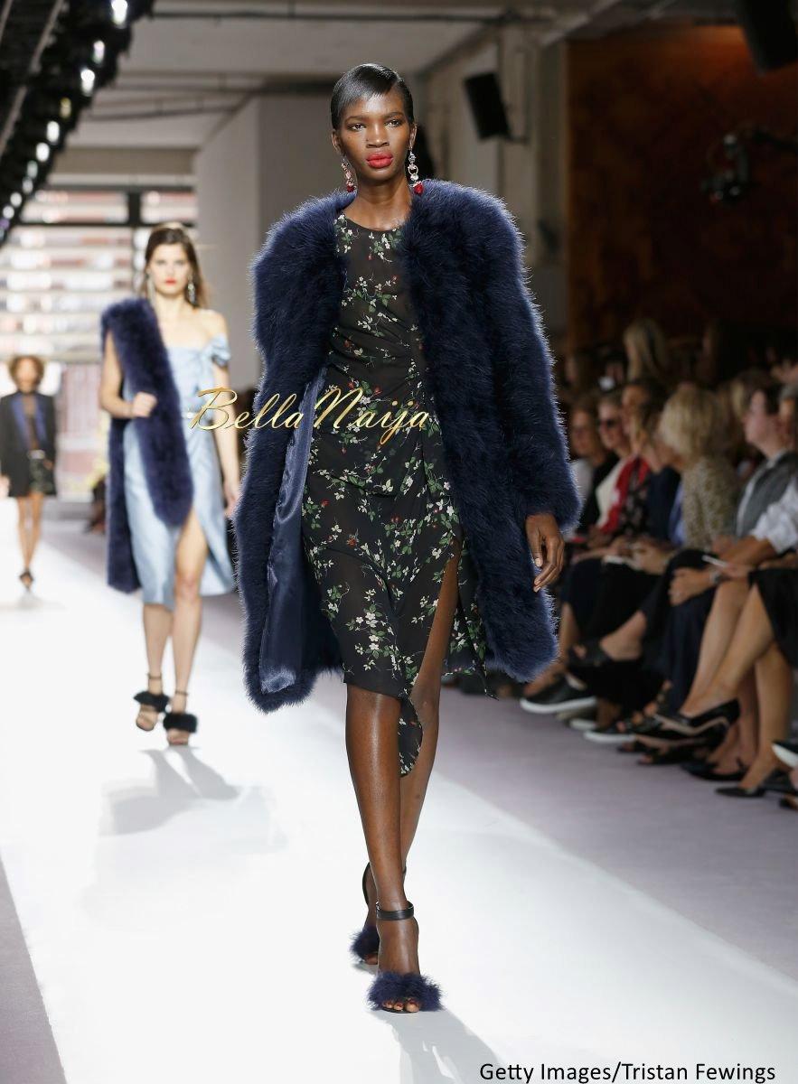 Aamito Stacie Lagum at New York Fashion Week 2015 - Bellanaija - September017