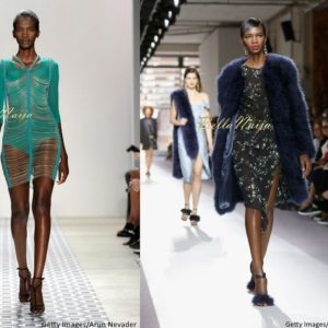 Aamito Stacie Lagum at New York Fashion Week 2015 - Bellanaija - September019