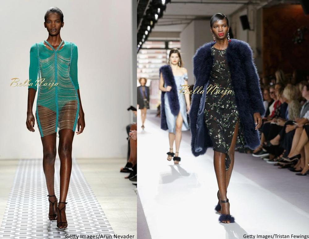 Aamito Stacie Lagum at New York Fashion Week 2015 - Bellanaija - September019