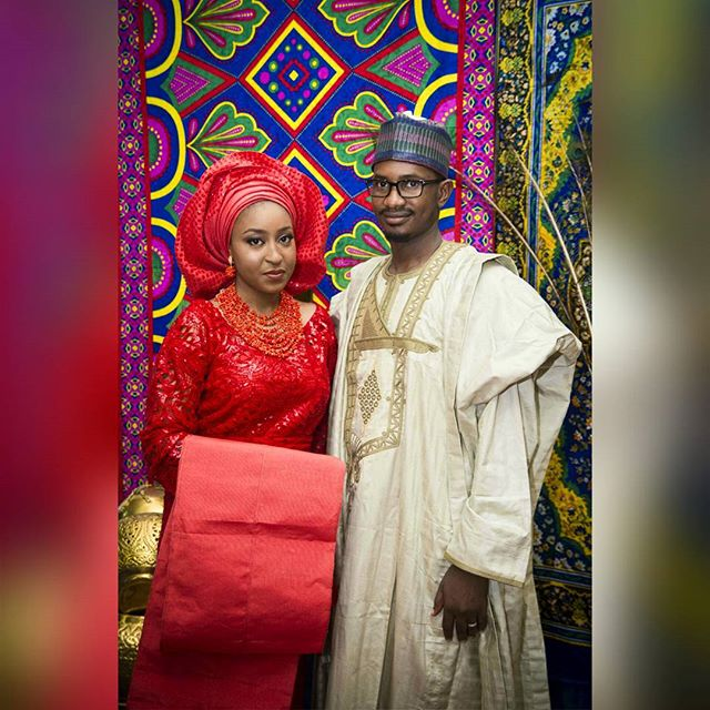 The Bride & Groom - Aisha and Abubakar