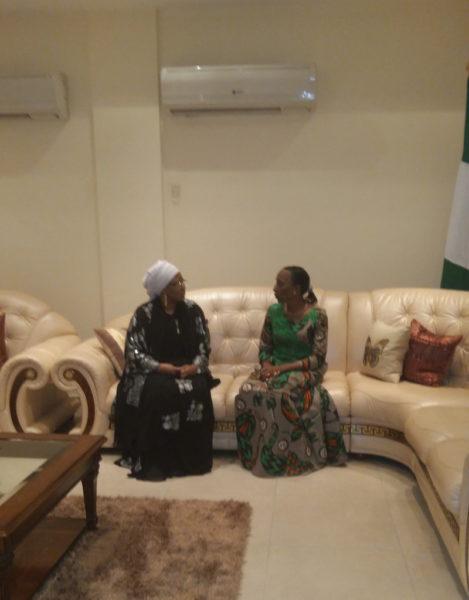 Aisha Buhari Condolence visit
