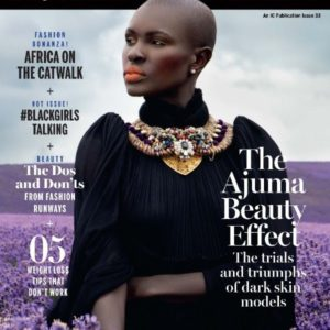 Ajuma Nasanyana covers New African Woman October Issue - Bellanaija - September002