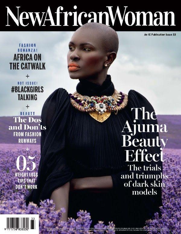 Ajuma Nasanyana covers New African Woman October Issue - Bellanaija - September002