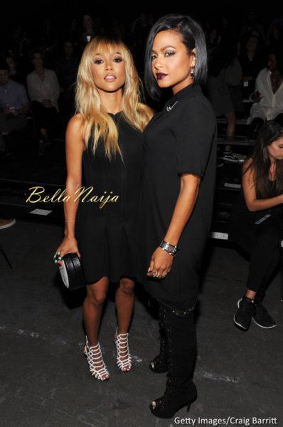 Karrueche & Christina Milian