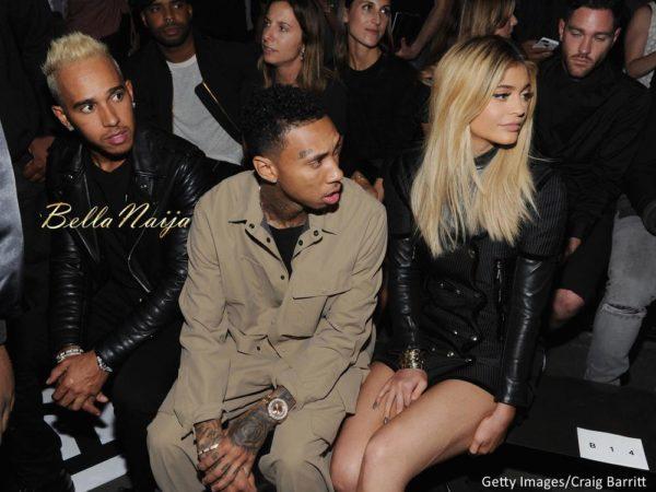 Lewis Hamilton, Tyga & Kylie Jenner