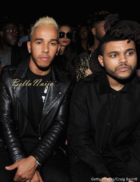 Lewis Hamilton & The Weeknd