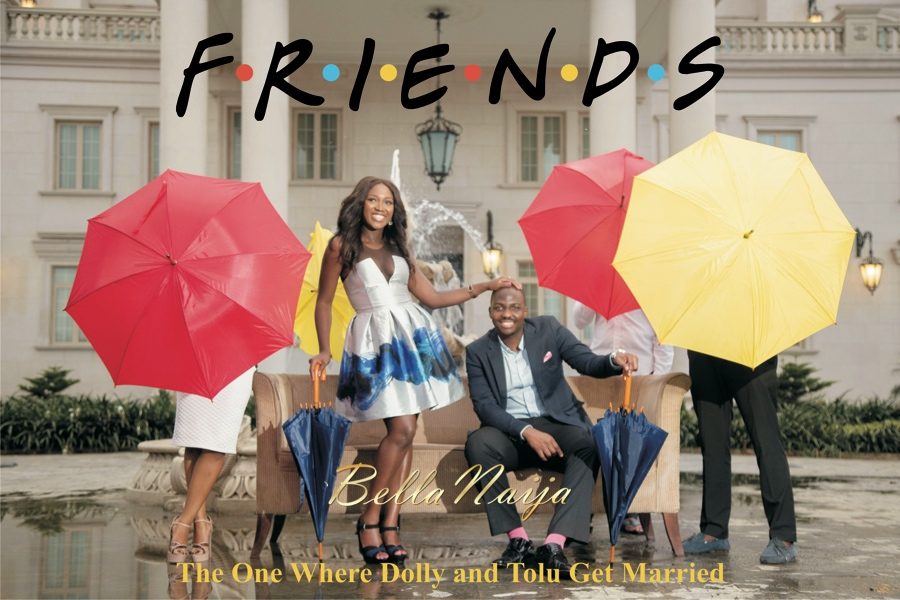 BellaNaija Weddings pre-wedding shoot by Demilade Roberts.Friends cover