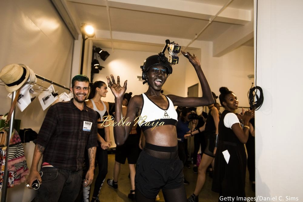 Bimpe Onakoya at Chromat featuring Intel Collaboration New York Fashion Week 2015 - Bellanaija - September007