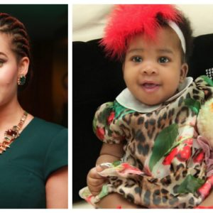 Caroline Danjuma Baby Daughter BN 5