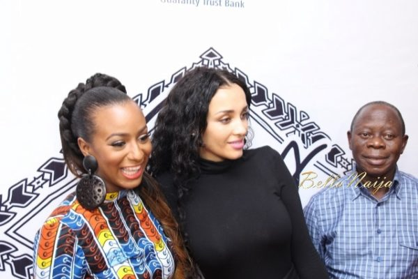 "At DJ Cuppy's ""Cuppy Takes Africa"" launch"