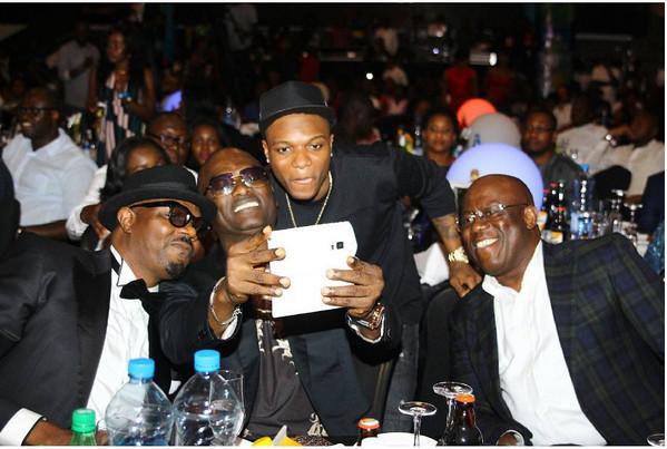 DJ Jimmy Jatt, Kenny Ogungbe, Wizkid & Dayo D1