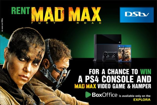 DStv Sep Box Office visual-MAD MAX