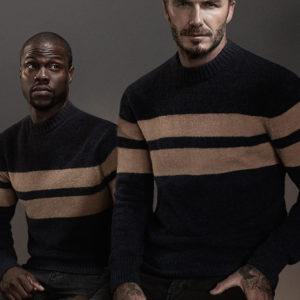 David Beckham and Kevin Hart in H&M Campaign for Modern Essentials - BellanNaija - September 2015